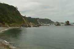 De Reeks van Nice Rotsen in Front Of The Beach Of-Stilte royalty-vrije stock foto's
