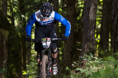 De Reeks van Oregon Enduro - Josh Carlson Royalty-vrije Stock Afbeelding
