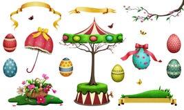 De Reeks van Pasen royalty-vrije illustratie