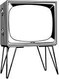 De reeks van TV vector illustratie