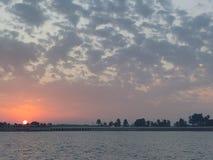 De reeks van de zon stock foto's
