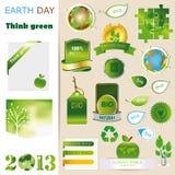 De reeksen van de ecologie Stock Foto's