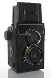 De ReflexCamera van de tweeling-lens Royalty-vrije Stock Afbeelding