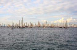 De regatta van Barcolana, Triëst Stock Foto's