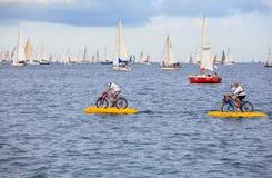 De regatta van Barcolana in Triëst Royalty-vrije Stock Afbeelding