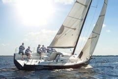 De regatta van de Hetmankop Royalty-vrije Stock Afbeeldingen