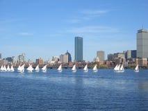 De Regatta van het Jacht van Boston Stock Foto's