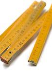 De regel van de houtbewerking Royalty-vrije Stock Foto
