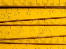De regel van de zigzag. Stock Afbeeldingen