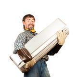 De regelaar van de airconditioning stock afbeelding