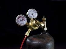De regelgever van het gas Royalty-vrije Stock Afbeelding