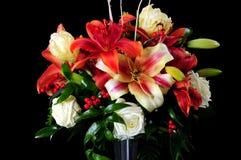 De regeling van bloemen Stock Fotografie