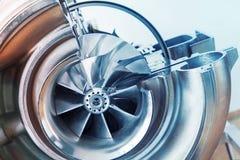De regeling van de turbocompressorstructuur royalty-vrije stock afbeeldingen