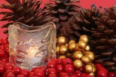 De regeling van Kerstmis. royalty-vrije stock foto's