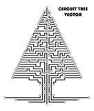De regelingsboom van de computerkring stock illustratie