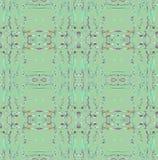 De regelmatige futuristische groene grijze zwarte van het vierkantenpatroon diagonaal Stock Foto