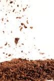 De regen van de chocolade Royalty-vrije Stock Foto's
