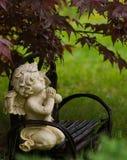 De regenachtige Engel van de Dag royalty-vrije stock fotografie