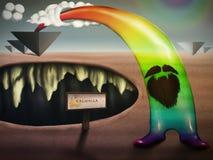 De regenboog Royalty-vrije Stock Foto