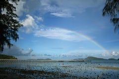 De regenboog Stock Foto's