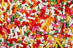 De regenboog bestrooit Stock Foto