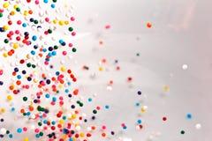 De regenboog bestrooit Royalty-vrije Stock Foto