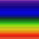 De regenboog kleurt en lijnen abstracte achtergrond Royalty-vrije Stock Fotografie