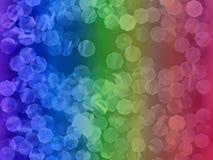 De regenboog schittert Stock Afbeelding