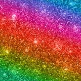 De regenboog schittert achtergrond Vector Stock Foto's