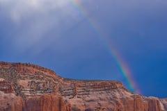 De Regenboog van Arizona royalty-vrije stock afbeelding