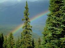 De regenboog van de berg Royalty-vrije Stock Foto's