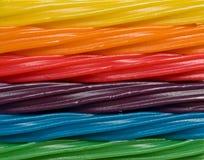 De regenboog van het suikergoed Royalty-vrije Stock Afbeeldingen