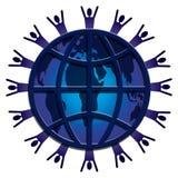 De regenboog van World Wide Web Stock Afbeelding