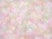 De regenboogachtergrond van de pastelkleur met bokeeffect Royalty-vrije Stock Fotografie