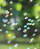 De regenboogbellen Royalty-vrije Stock Afbeelding