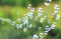 De regenboogbellen Royalty-vrije Stock Fotografie