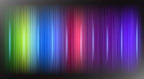De regenboogkleuren steekt Lijnen op de Zwarte Vector van de Achtergrond Abstracte Ontwerp Moderne Technologie aan stock illustratie