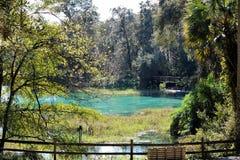 De regenbooglentes in Dunnellon, Florida royalty-vrije stock fotografie