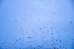 De regendruppels stock foto's