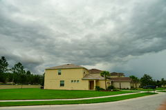 De regenwolk van Florida Stock Foto's