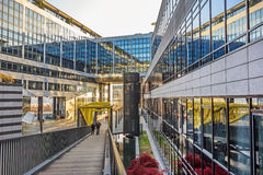 De regionale Bank van de Staat van baden-Wurttemberg, Stuttgart Stock Fotografie