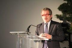 De regionale voorzitter Roberto Maroni Oct, 2013, voor archief royalty-vrije stock fotografie