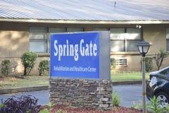 De Rehabilitatie van de de lentepoort en Gezondheidszorgcentrum, Memphis, TN stock fotografie
