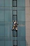 De Reinigingsmachines van het venster Royalty-vrije Stock Fotografie