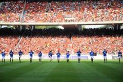 De Reis 2009 van Manchester United Azië royalty-vrije stock fotografie