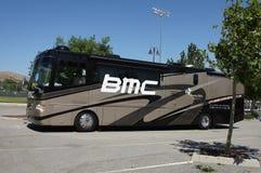 De Reis Amgen van de Bus 2012 van het Team BMC van Californië Stock Afbeelding