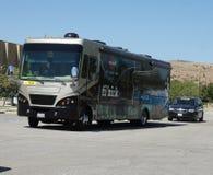 De Reis Amgen van de Bus 2012 van het Team van Bissill van Californië Stock Foto's