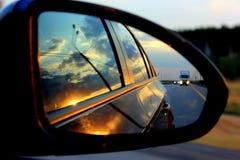 De reis door auto Royalty-vrije Stock Foto's