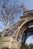 De reis Eiffel van Parijs Stock Foto