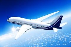 De Reis van bedrijfs vliegtuigvliegtuigen Vervoersconcept Stock Foto's